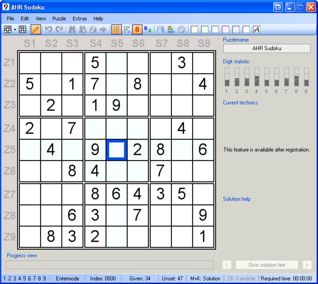 Ahr Sudoku