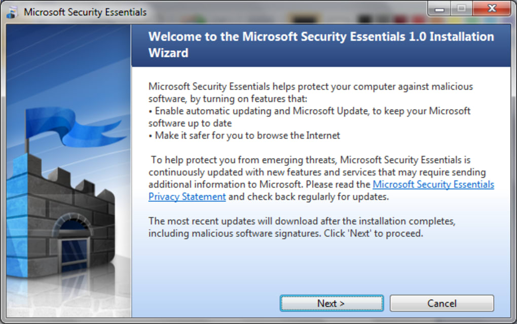 free download antivirus microsoft security essentials for windows 10 64 bit