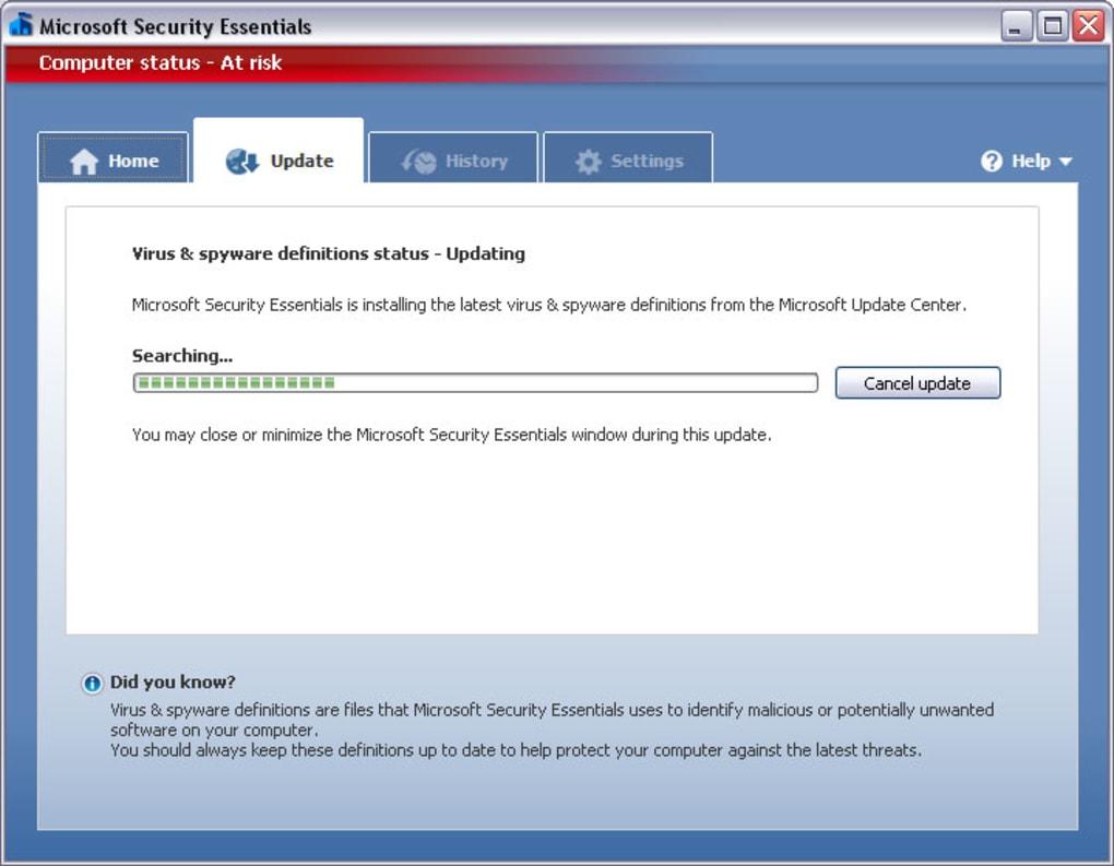 antivirus gratis microsoft security essentials 64 bits windows 8