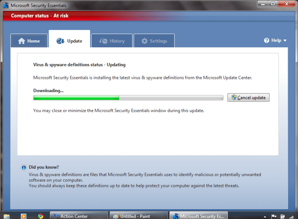 Microsoft Security Essentials - Download