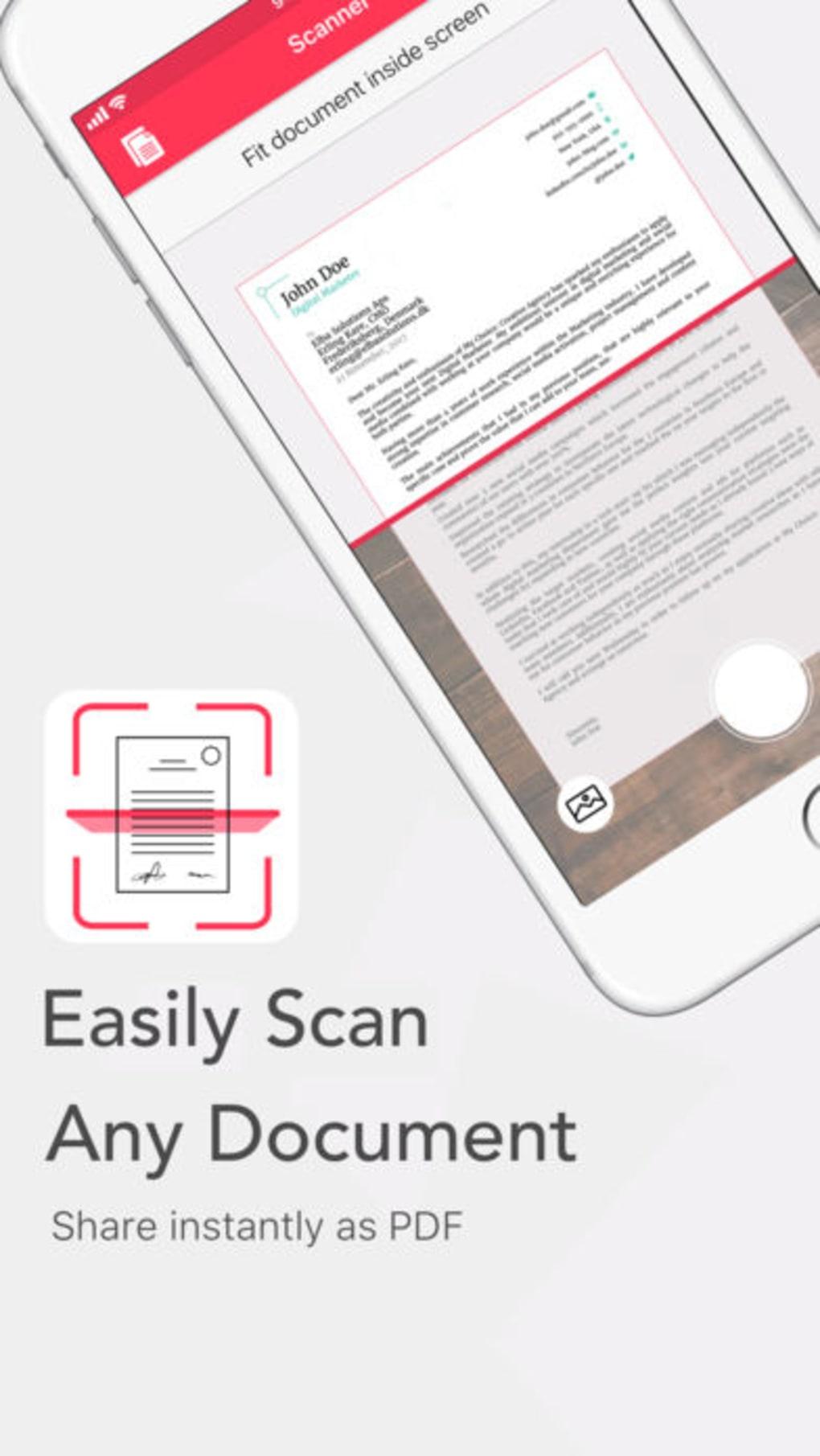 Ticket scanning app.