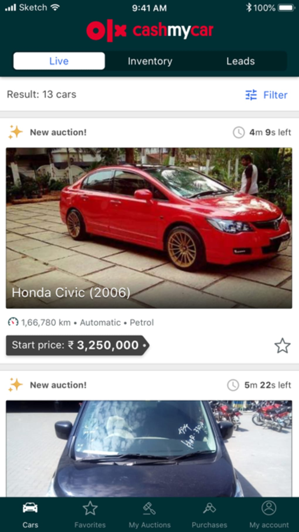 OLX Cash My Car Dealers Only for iPhone - Download