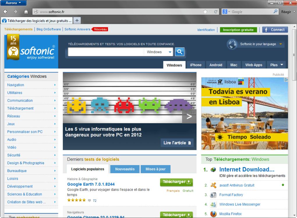 mozilla firefox téléchargement gratuit pour Windows 7 guide d'installation