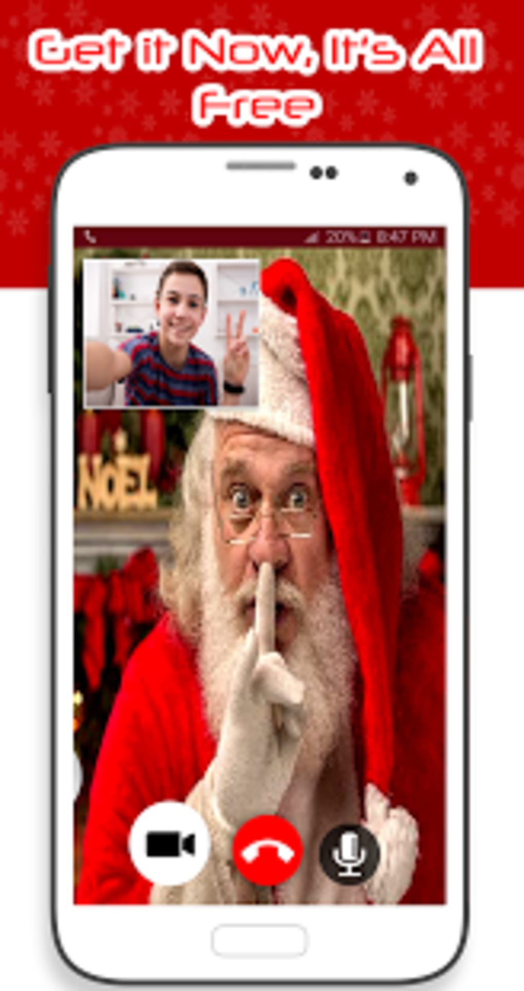 Real Santa Video Call