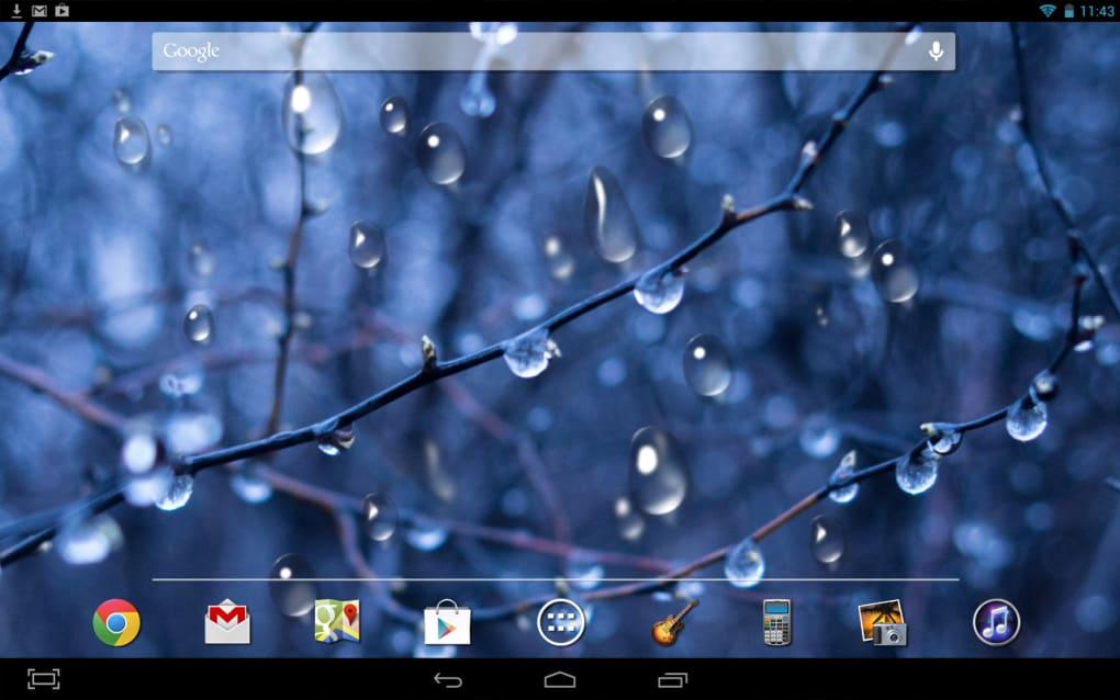 Drops HD Live Wallpaper 1 4 Screenshots