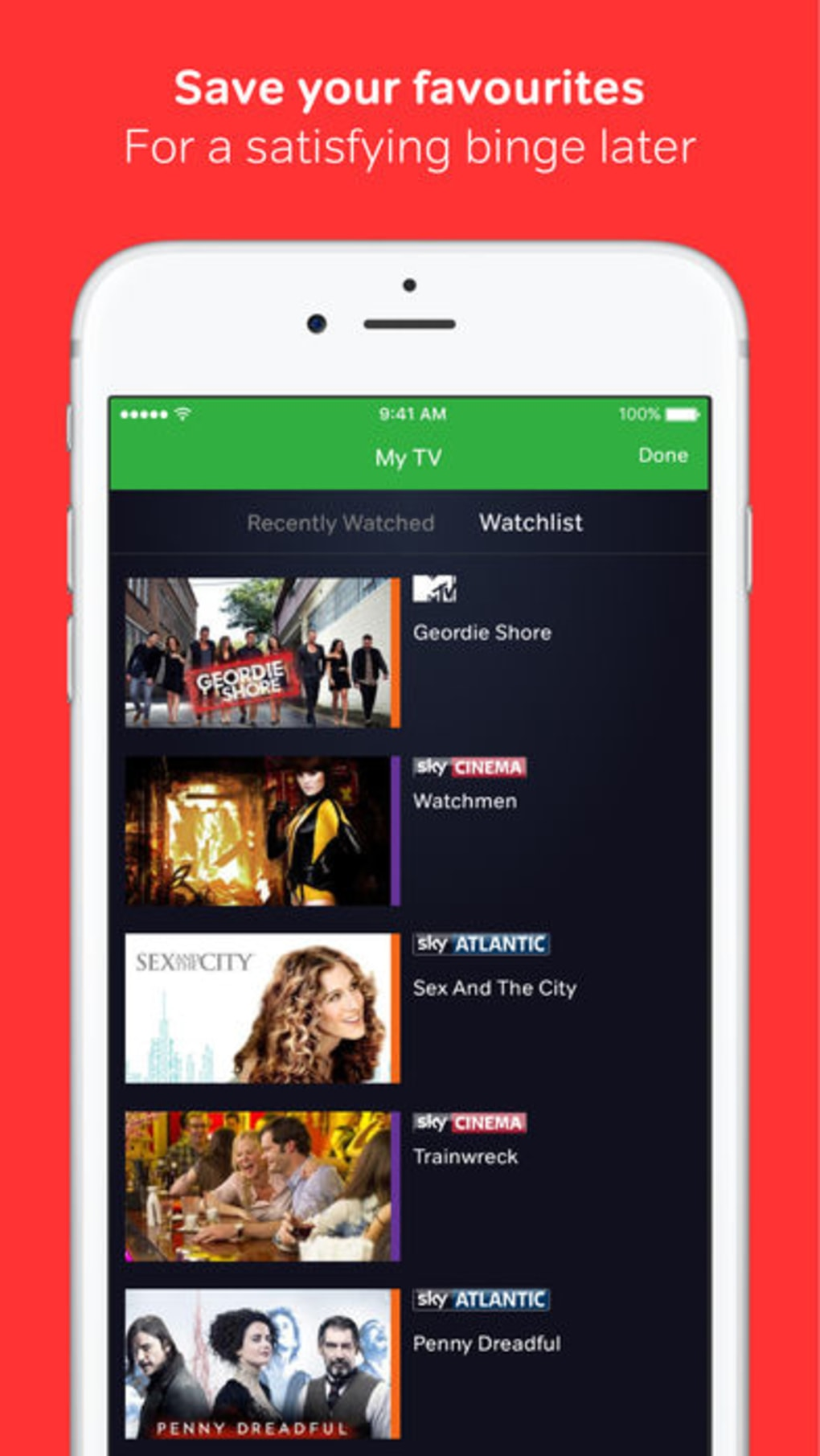 NOW TV Ireland for iPhone - Download