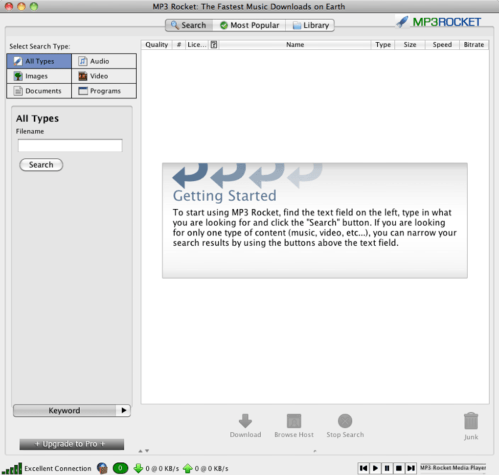 mp3 rocket download for mac
