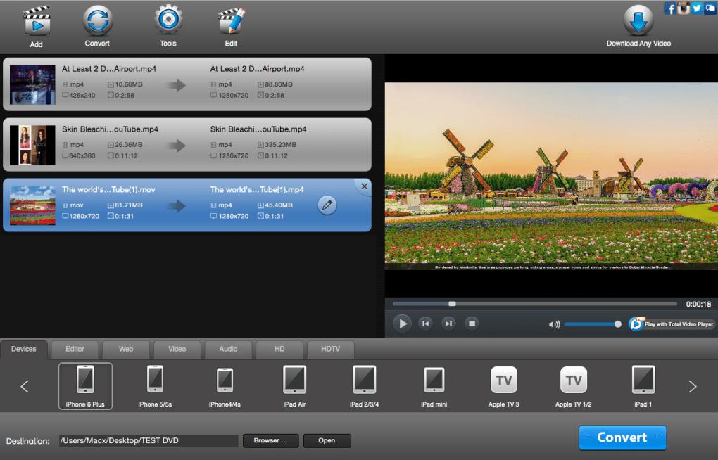 apple mac soft video converter