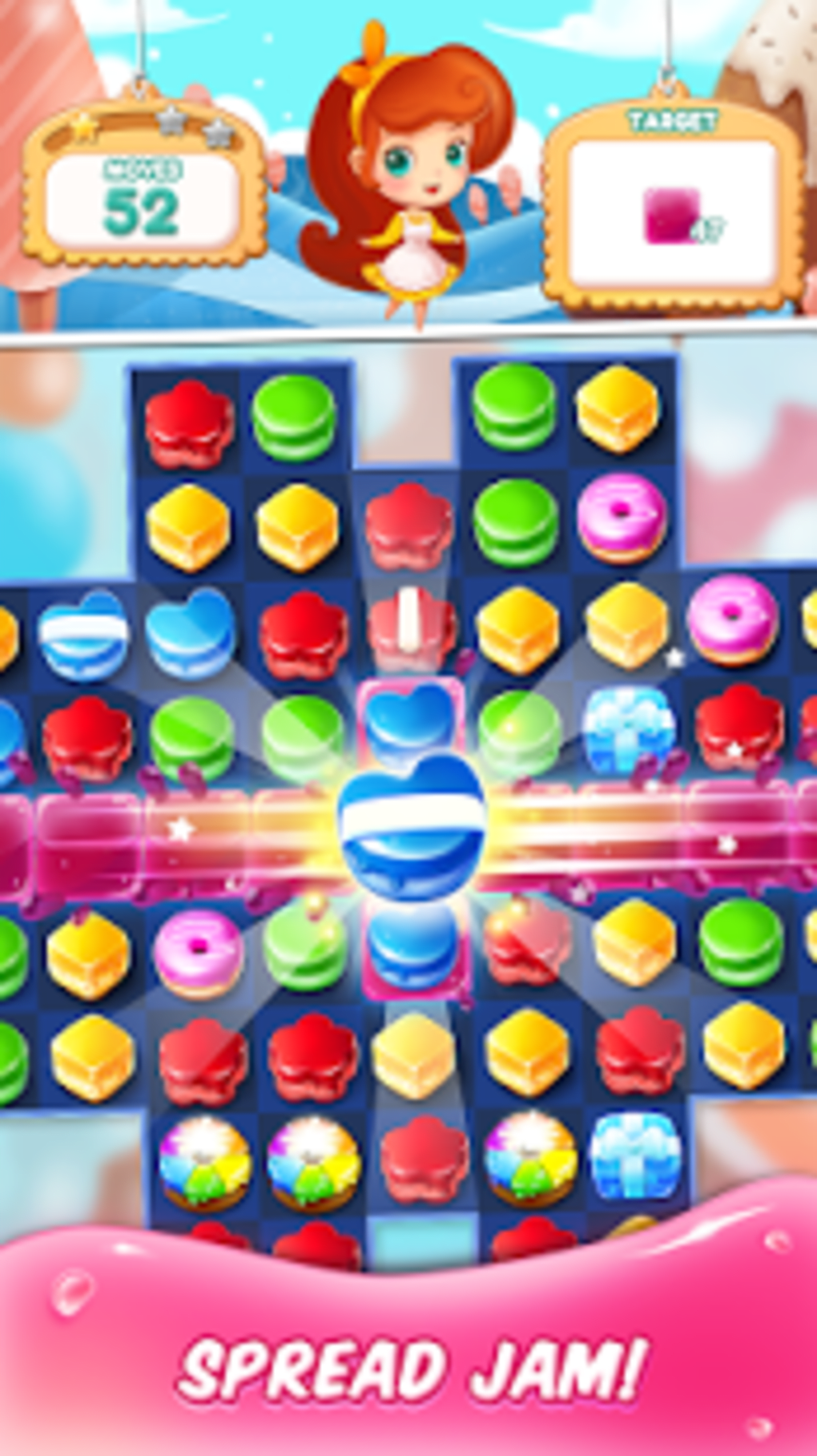 cake match 3 mania for android download
