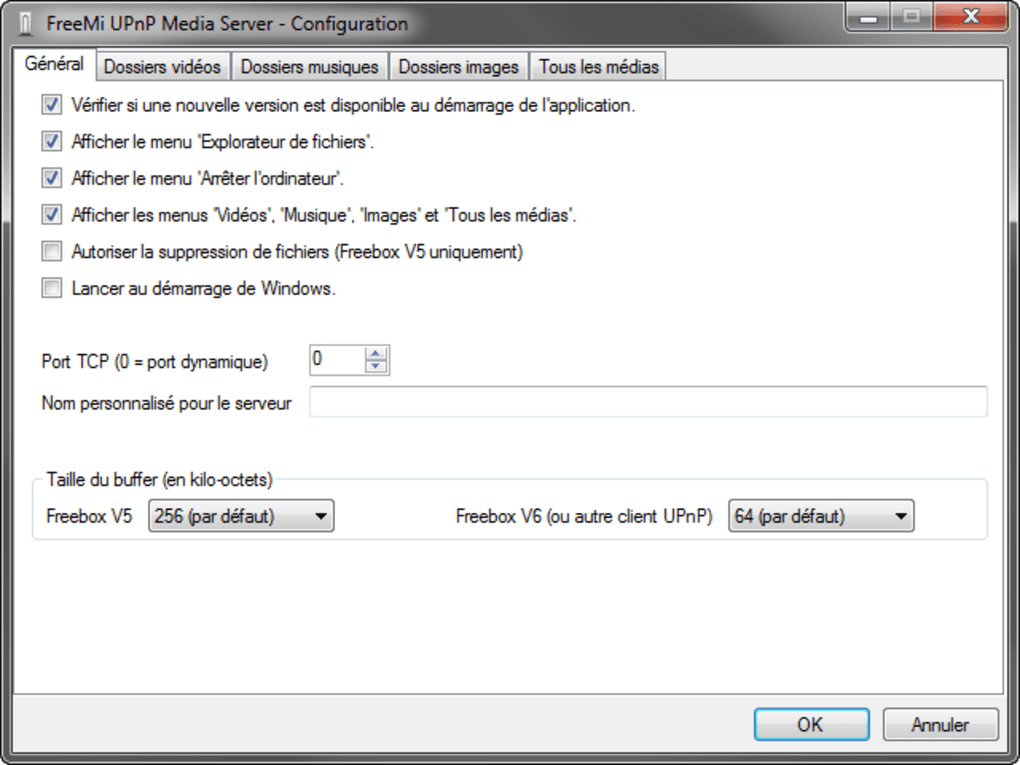 freemi upnp media server windows 7