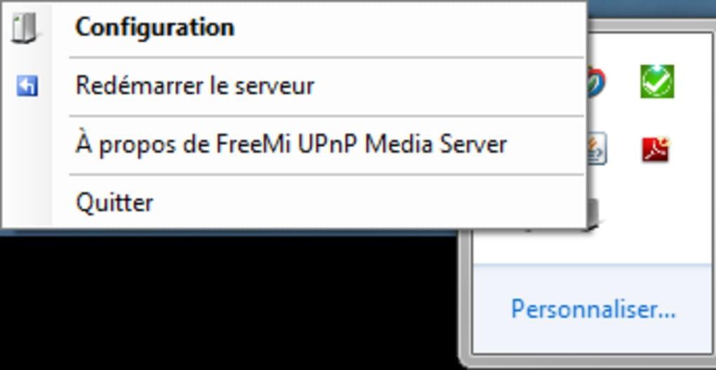 freemi upnp media server freebox v6