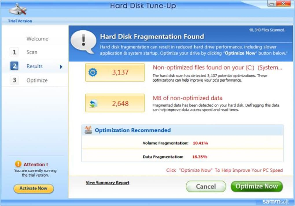 Hard Disk Tune Up Descargar