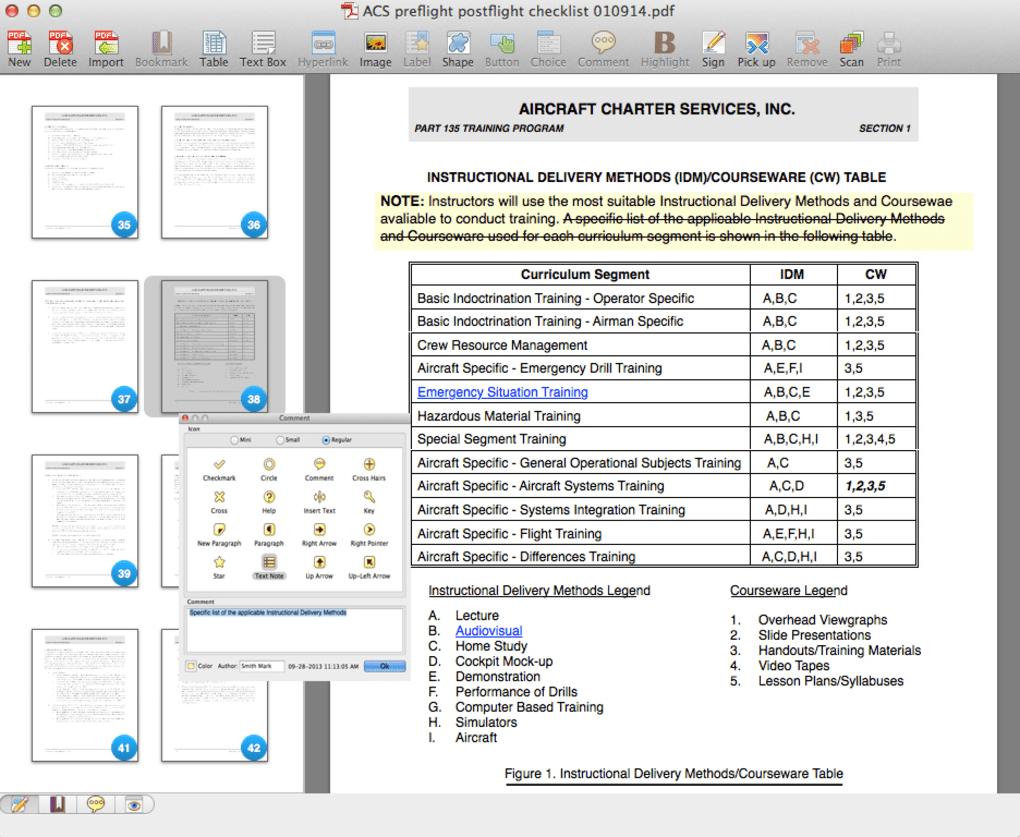 Editor mac pdf adobe