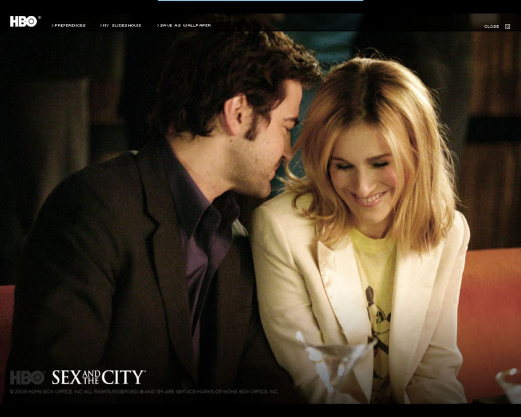 Sex and the city screen saver