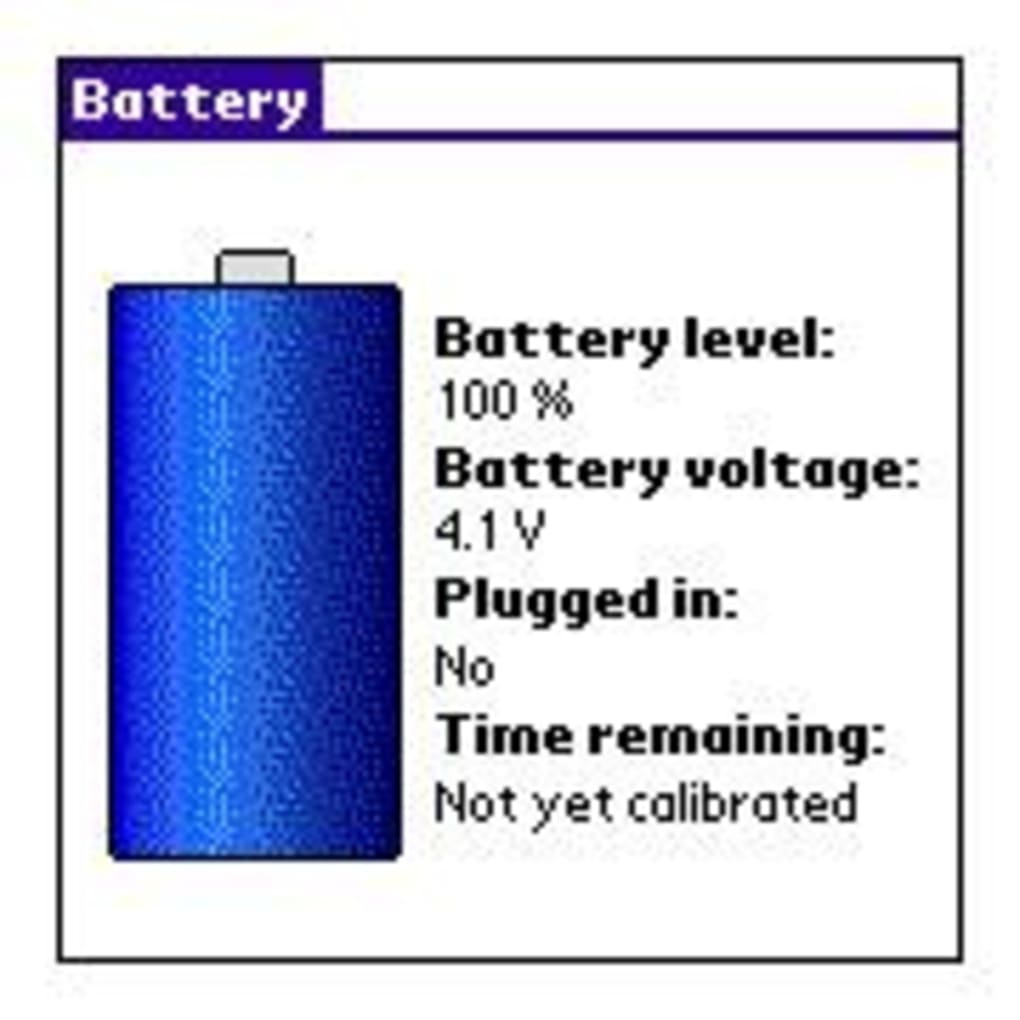Michau's Battery Meter