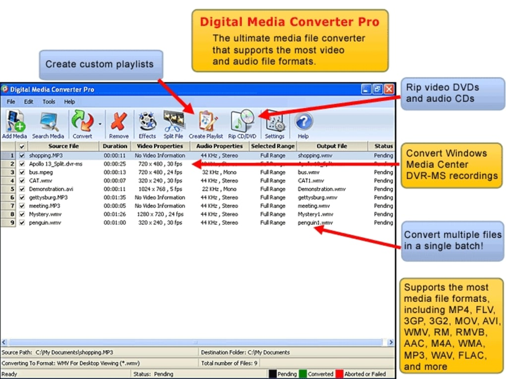 Digital Media Converter Pro - Download