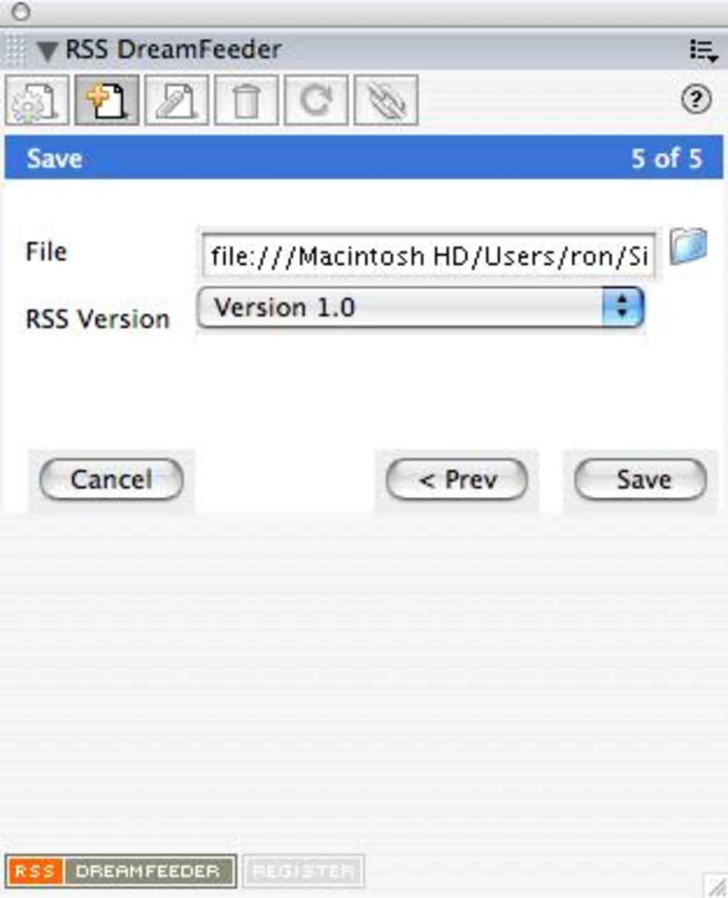 RSS Dreamfeeder - Download