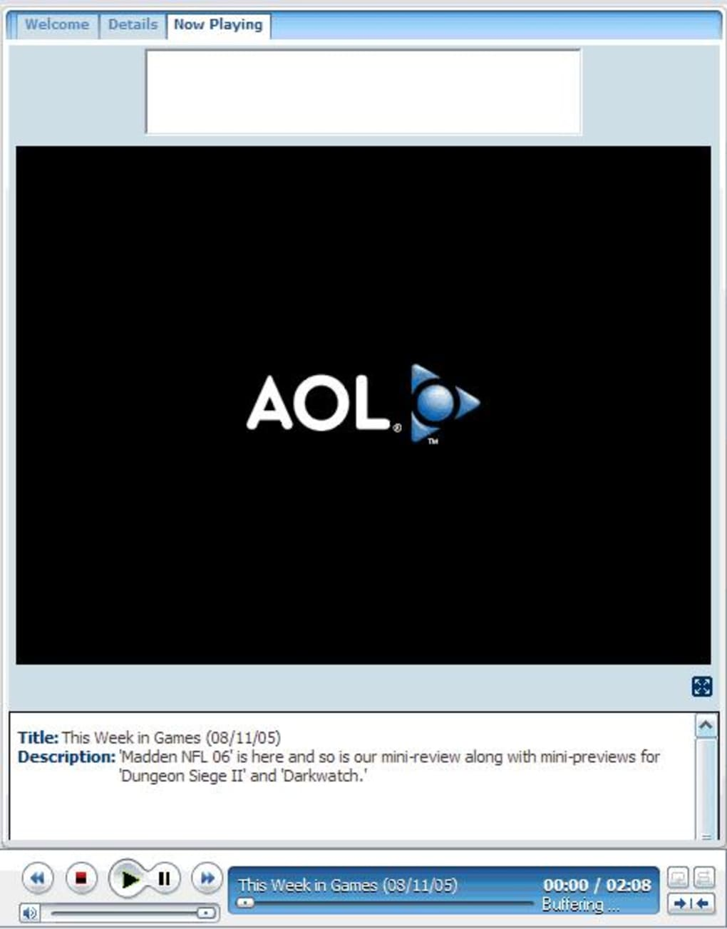 AOL Media Player - Download