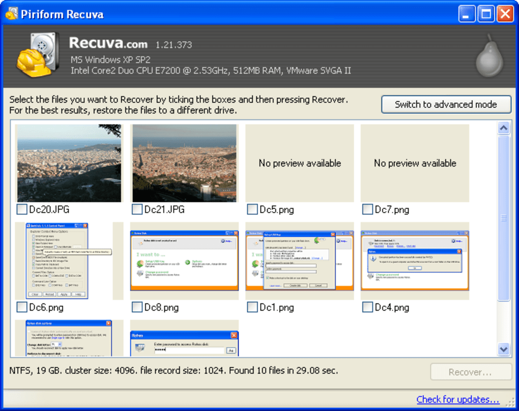 Recuva Portable - Download