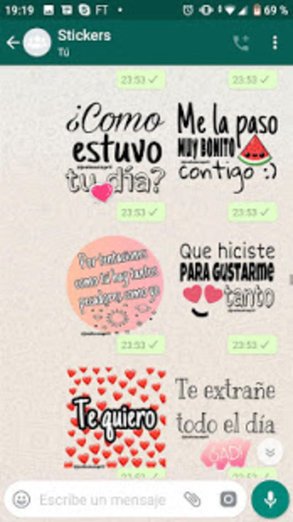 Stickers De Amor Y Piropos Para Whatsapp For Android Download