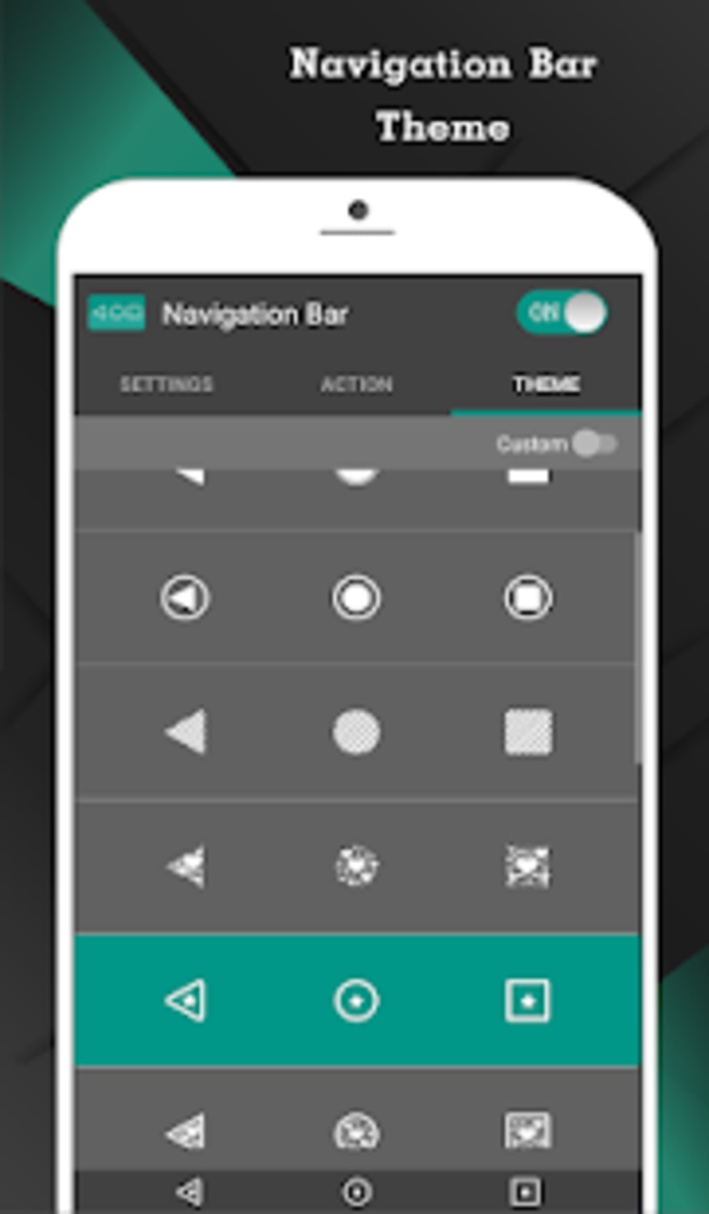 Navigation Bar Back Home Recent Button for Android - Download