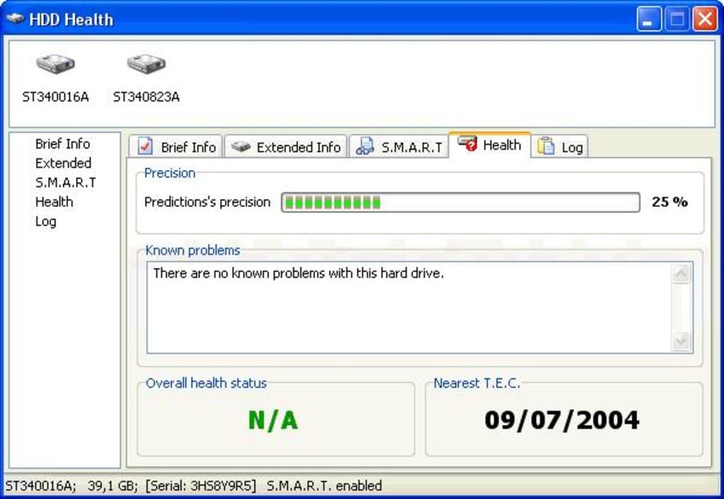 HDD Health hard disk