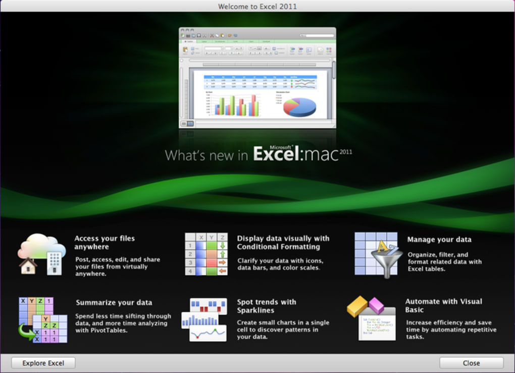 Microsoft Excel 2011 for Mac - Download