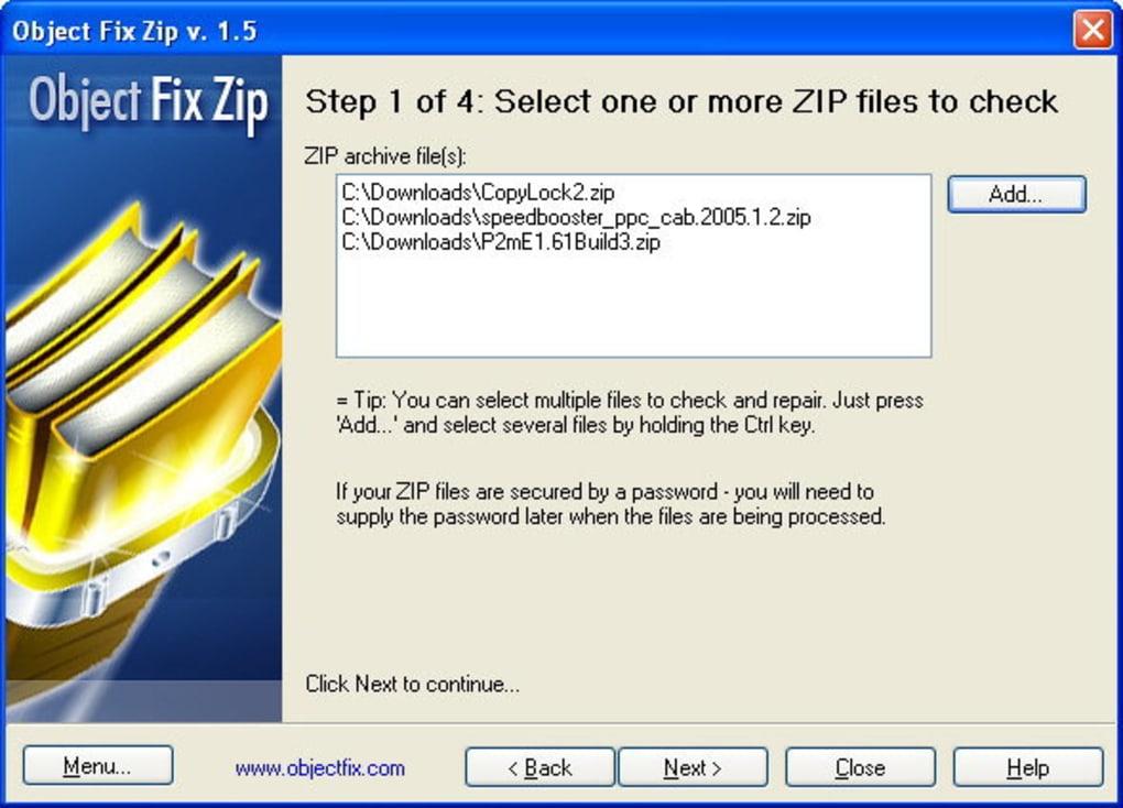 Object FIX ZIP - Download