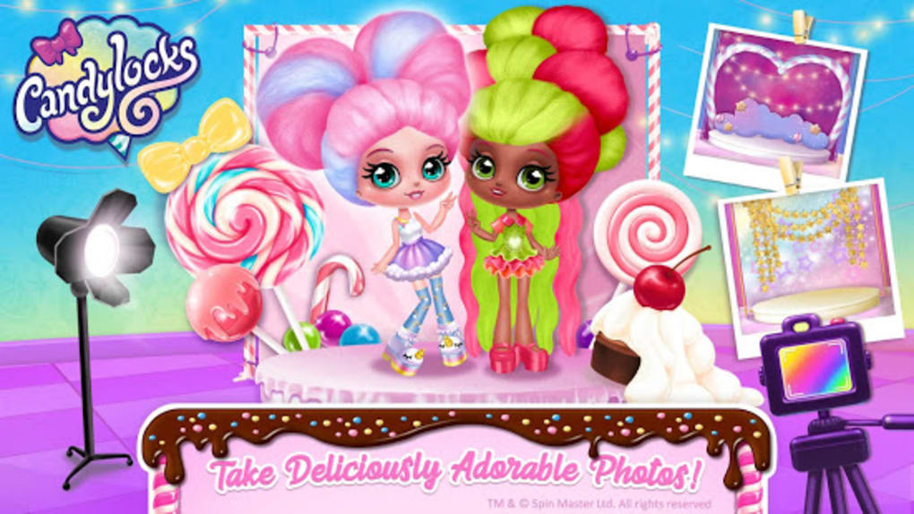 Candylocks Hair Salon - Style Cotton Candy Hair für Android ...