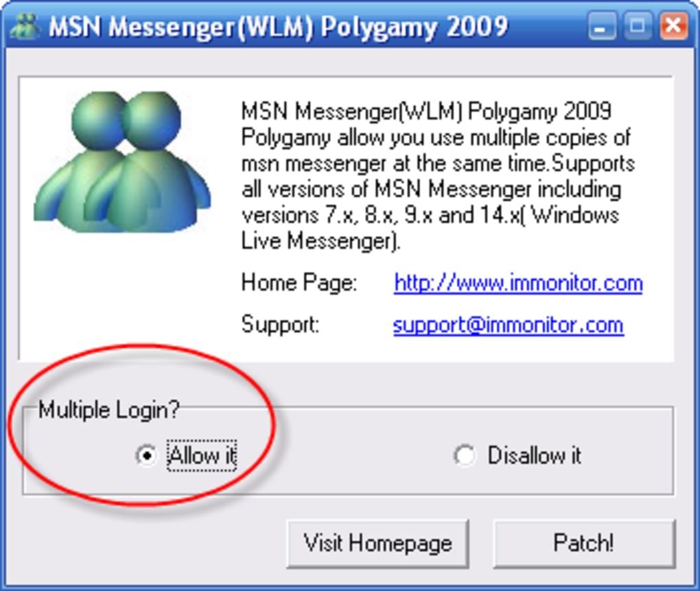 msn multilive 2009 gratuit