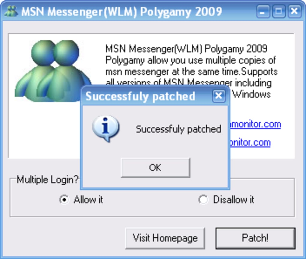 TÉLÉCHARGER PATCH MSN POLYGAMIE