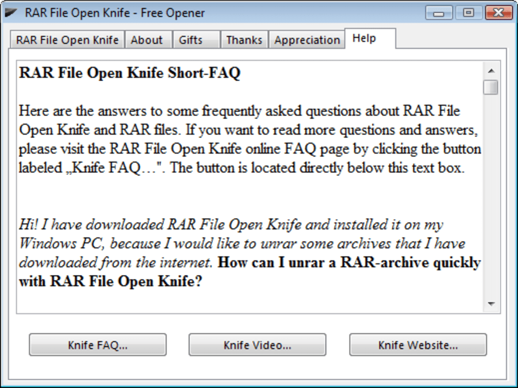 how to extract .rar file online