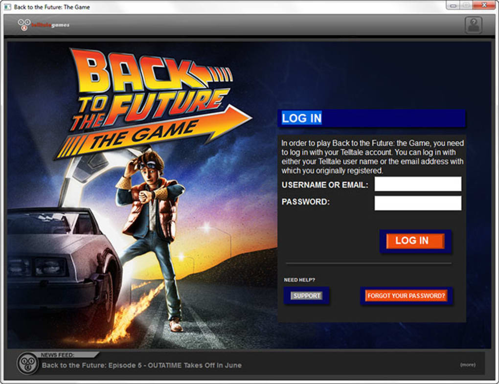 back to the future pc game free download