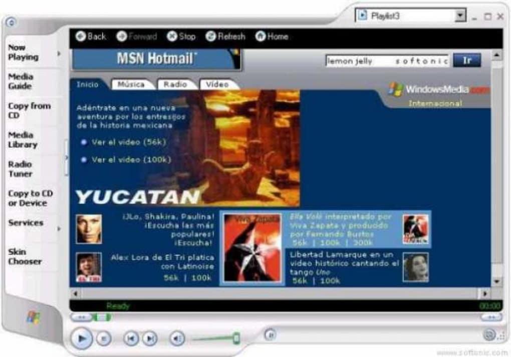 windows media player 9series italiano gratis