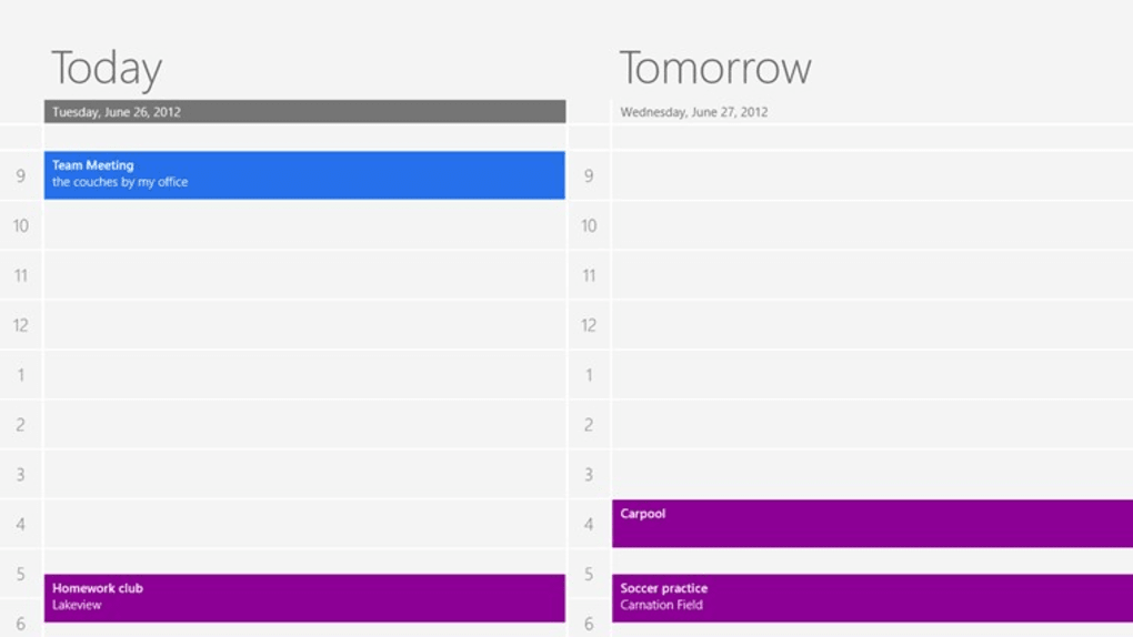 Calendario Windows 10 Su Desktop.Correo Y Calendario Para Windows 10 Windows Descargar