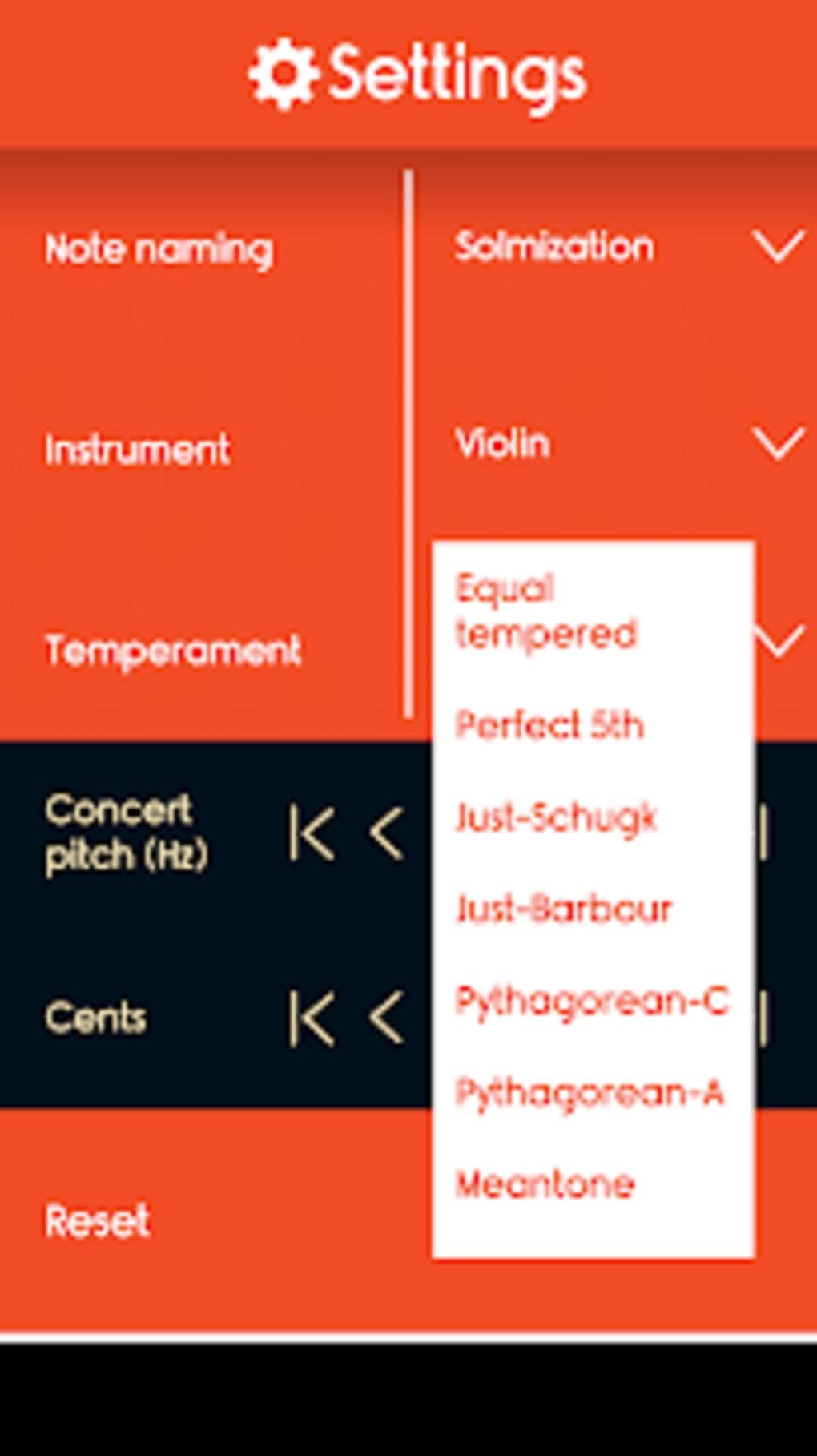 Master Violin Tuner