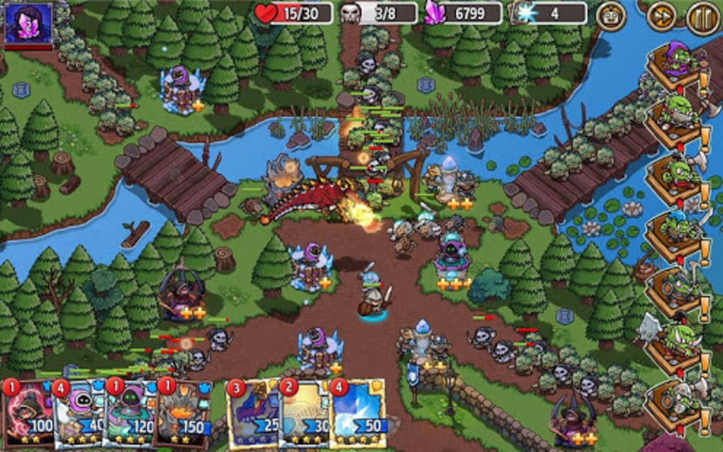 Crazy Defense Heroes: Tower Defense Strategy TD for Android