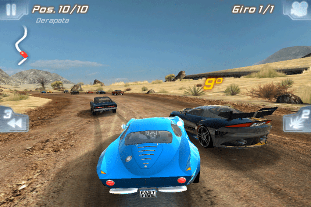 fast and furious 5 game free download for android