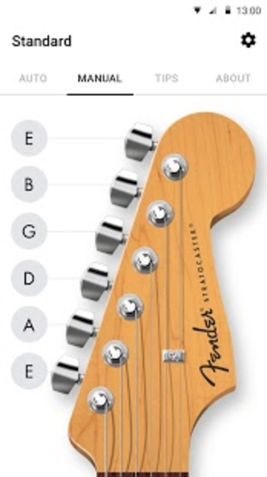 guitar tuner free fender tune for android download. Black Bedroom Furniture Sets. Home Design Ideas