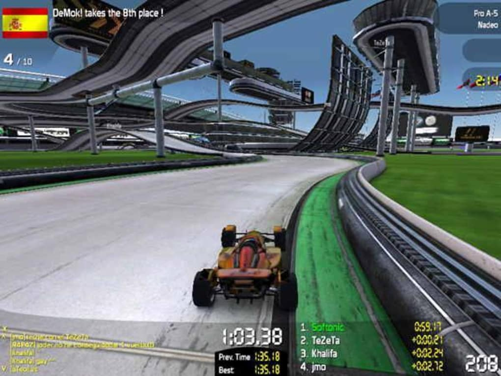 voiture trackmania nation forever