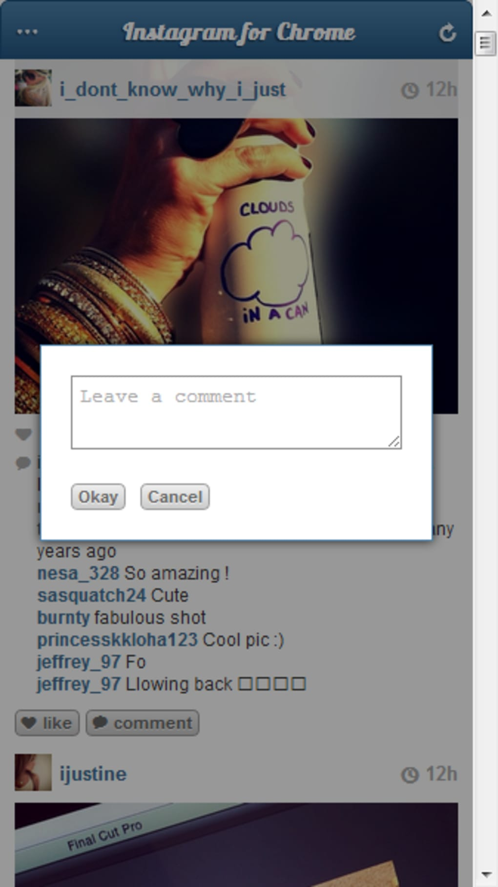 Instagram for Chrome - Download