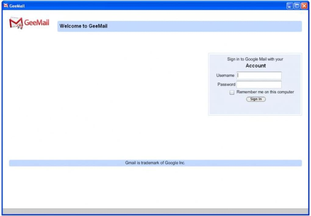 GeeMail - Download