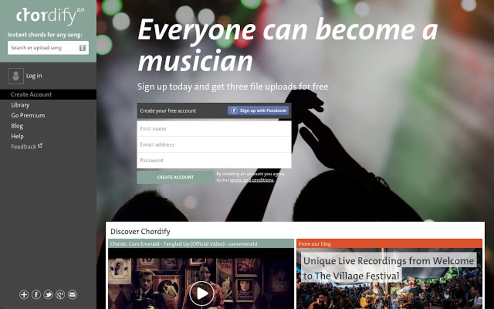 Chordify Tune Into Chords Download