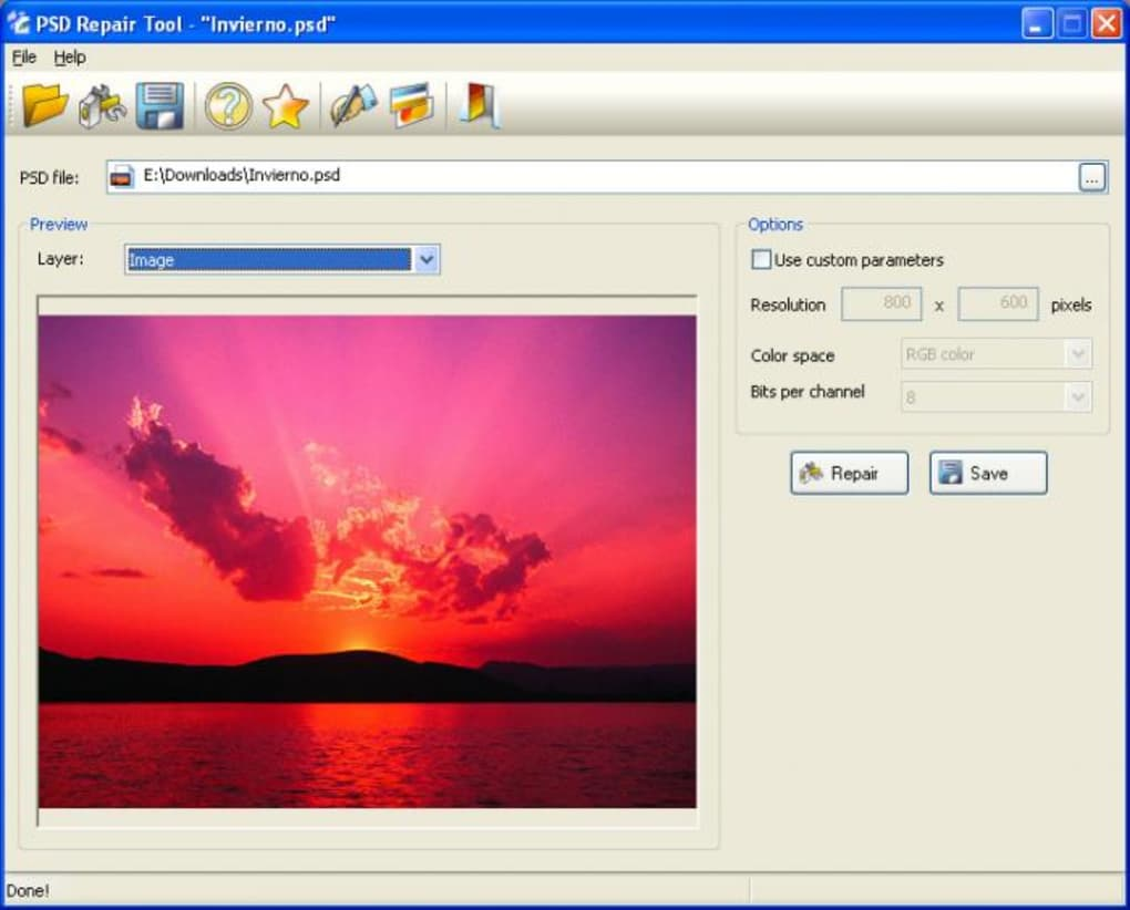 how to fix a corrupt psd file mac