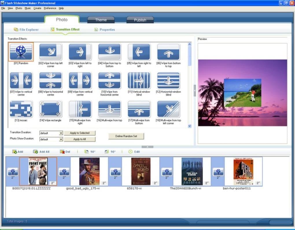 flash slideshow maker professional 4.81