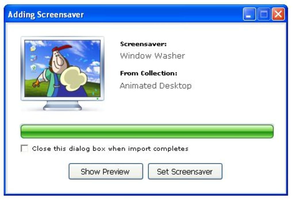 magentic screensaver