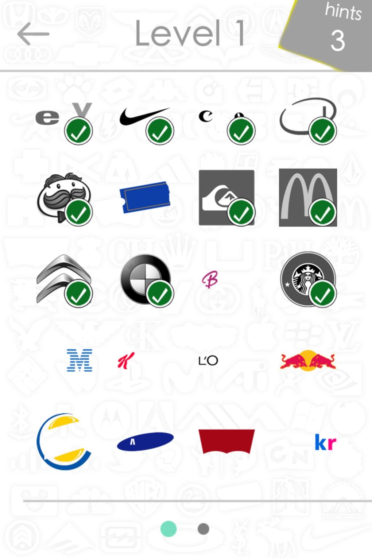 logos quiz game pour iphone t l charger. Black Bedroom Furniture Sets. Home Design Ideas