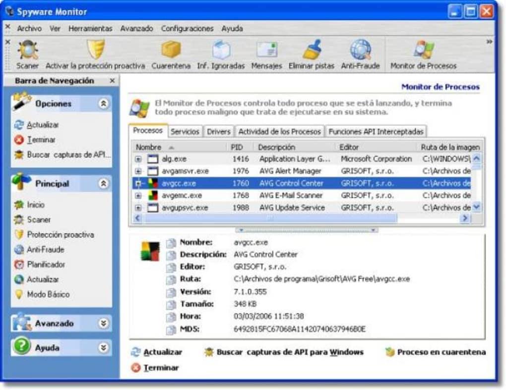 Software espía para monitorear la actividad de la computadora