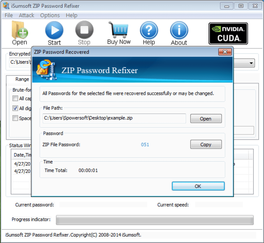 iSumsoft ZIP Password Refixer - Download