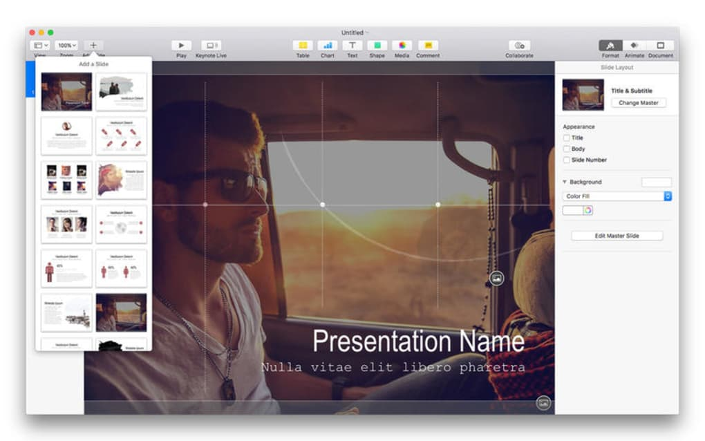 Themes for Keynote Free for Mac - Download